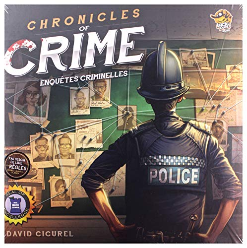 Chronicles of crime, un jeu connecté